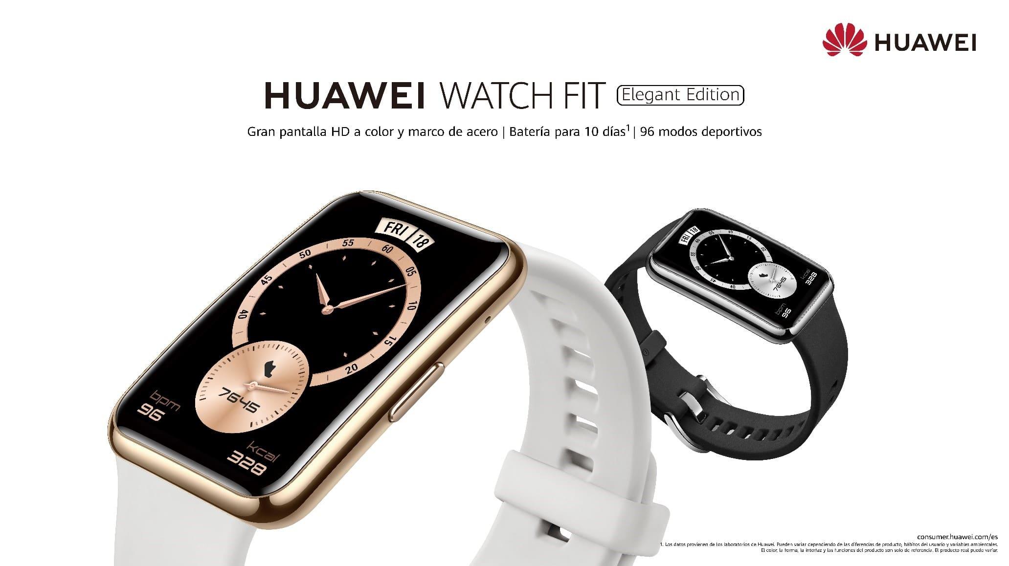 Huawei lanza HUAWEI WATCH FIT Elegant Edition