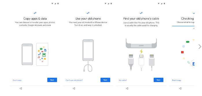 Data Restore Tool. Google prepares an app to facilitate the change from iPhone to Android.  Data restoration tool